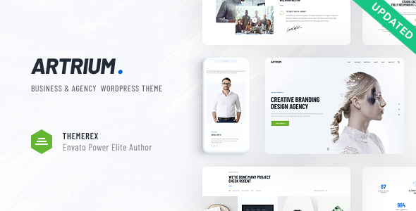 Artrium | Creative Agency & Web Studio WordPress Theme