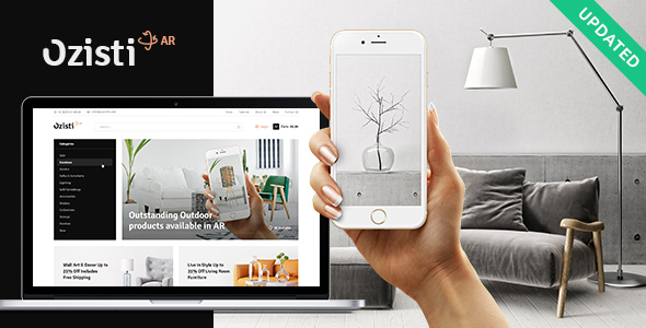 Download Ozisti | A Multi-Concept WooCommerce WordPress Theme Augmented Reality Store Ready