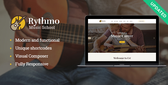 Rythmo | School of Arts & Music School WordPress Theme