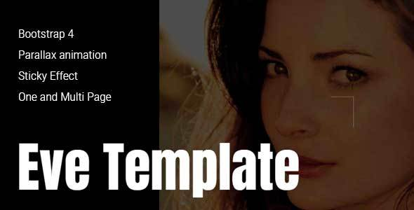Eve – Creative One & Multipage Template