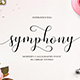 Symphony Script - GraphicRiver Item for Sale