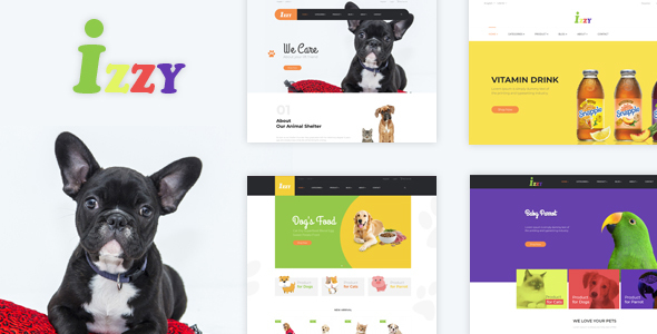 Bos Izzy - Veterinary Clinic & Pet Shop PrestaShop Theme