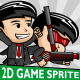 Bussiness Man Cartoon 2D Game Character Sprite - GraphicRiver Item for Sale