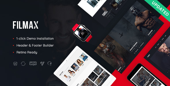 Filmax | Cinema & Movie News Magazine WordPress Theme
