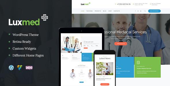 LuxMed | Medicine & Healthcare Doctor WordPress Theme