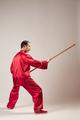 Senior master practicing qi qong taijiquan - PhotoDune Item for Sale