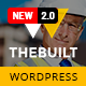 TheBuilt - Construction and Architecture WordPress theme - ThemeForest Item for Sale