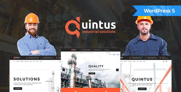 Quintus - Industrial & Engineering WordPress Theme