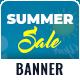 Summer Sale Web Banner Set - GraphicRiver Item for Sale