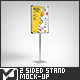 2 Sided Stand / Board Mock-Up - GraphicRiver Item for Sale