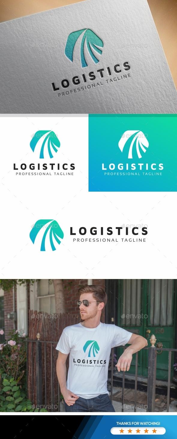 Hexagon Logistics Logo