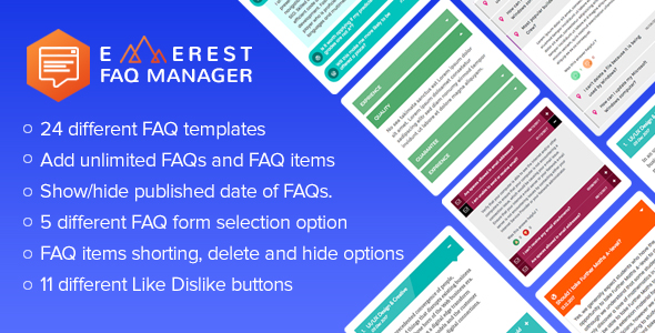 Everest FAQ Manager - Responsive Frequently Asked Questions (FAQ) Plugin for WordPress