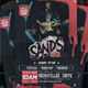 Sans Rock Concert Flyer - GraphicRiver Item for Sale