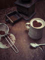 Rustic coffee background - PhotoDune Item for Sale