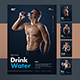 5 Consecutive Healthy Body Basics Posters - GraphicRiver Item for Sale