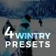 4 Lightroom Presets - Wintry Pack (+Mobile Version) - GraphicRiver Item for Sale