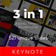 3 in 1 Multipurpose Keynote Template Bundle (Vol.08) - GraphicRiver Item for Sale