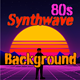 80s Synthwave Background Scientific - AudioJungle Item for Sale
