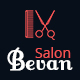 Bevan – Barber Salon Bootstrap 4 HTML Template - ThemeForest Item for Sale