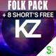 Upbeat Acoustic Indie Folk Pack