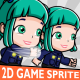 Police Woman 2D Game Character Sprite - GraphicRiver Item for Sale