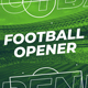 Football (Soccer) Opener - VideoHive Item for Sale