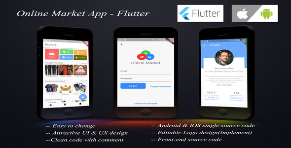 Flutter Plugins, Code & Scripts from CodeCanyon