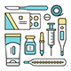 Medical and Health Care Icons - GraphicRiver Item for Sale