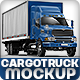 Cargo Truck Mock-Up based Ford Sterling - GraphicRiver Item for Sale