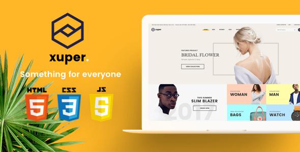 Xuper - eCommerce HTML5 Template