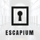 Escapium - Escape Room Game Sketch Template - ThemeForest Item for Sale