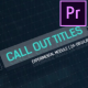 Call Outs HUD - VideoHive Item for Sale