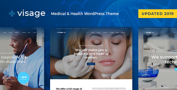 Visage - Medical & Health WordPress Theme