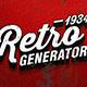 Retro Signs Generator - GraphicRiver Item for Sale