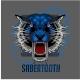 Sabertooth Tiger Design - GraphicRiver Item for Sale