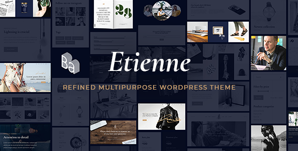 Etienne - Business WordPress Theme