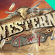 Western Party Horizontal Flyer - GraphicRiver Item for Sale