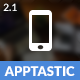 Apptastic Mobile - ThemeForest Item for Sale