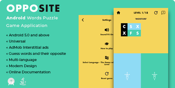 Make A Puzzle App With Mobile App Templates from CodeCanyon