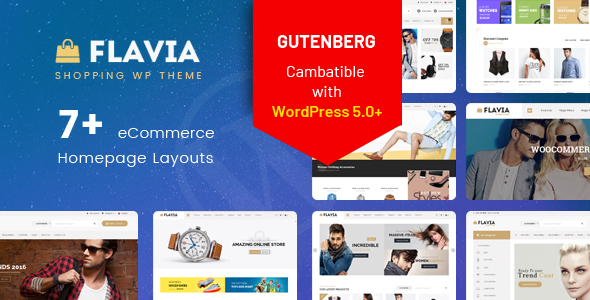 Flavia - Download Responsive WooCommerce WordPress Theme 2019