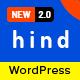 Hind - Multi-Concept Portfolio & Photography WordPress Theme - ThemeForest Item for Sale