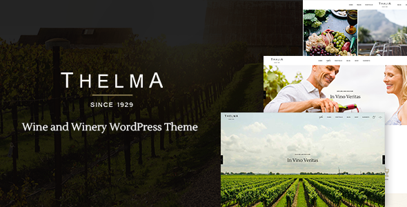 Thelma - Winery Theme