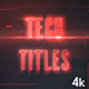 Ambient Titles - VideoHive Item for Sale