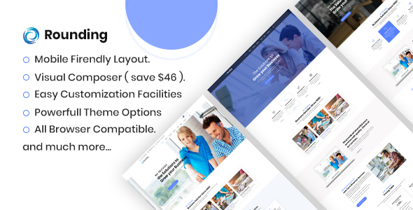 Rounding - Business WordPress Theme