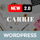 Carrie – Personal & Magazine WordPress Theme