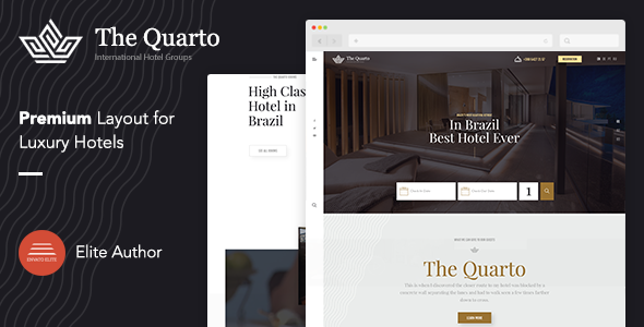 Online Hotel Booking The Quarto