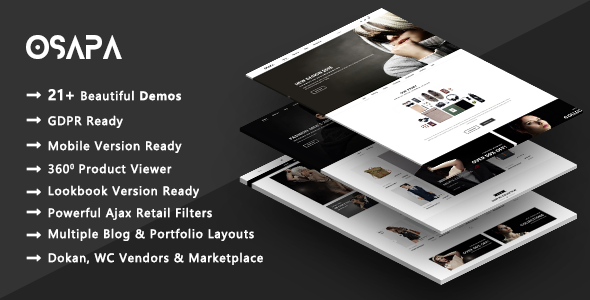 Osapa | Stylish Fashion WooCommerce WordPress Theme
