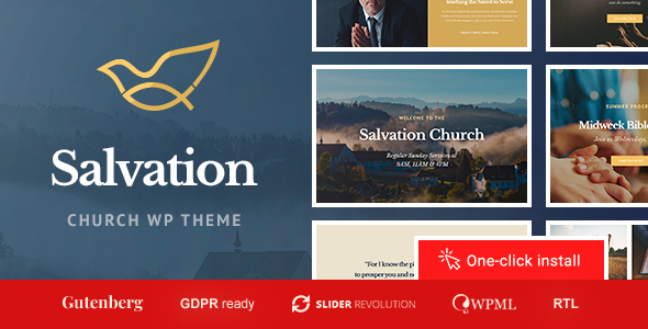 Salvation - Church & Religion WP Theme