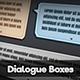 Dialogue Boxes - GraphicRiver Item for Sale