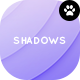 Round Shadows Backgrounds - GraphicRiver Item for Sale